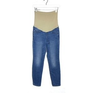 A:Glow Maternity Full Belly Panel Skinny Jeans 4